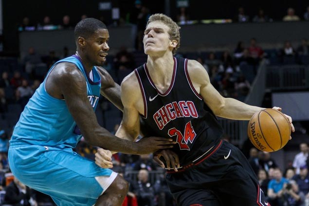 Lauri Markkanen shows way as Bulls overcome Hornets in overtime to end 10-game skid