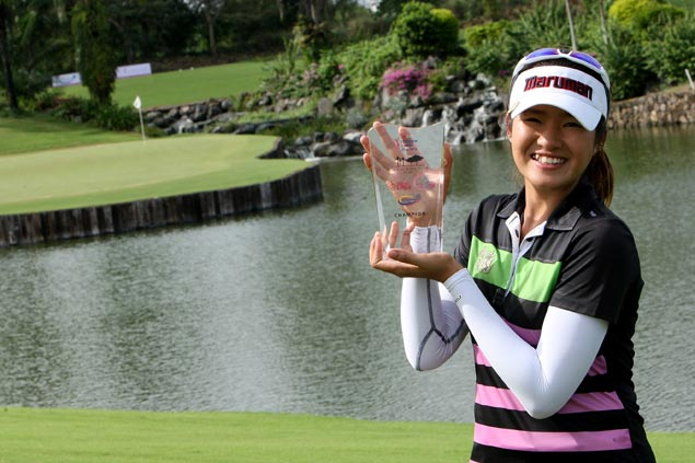 Renuka Suksukont leads Thai podium sweep in Philippine Ladies Masters