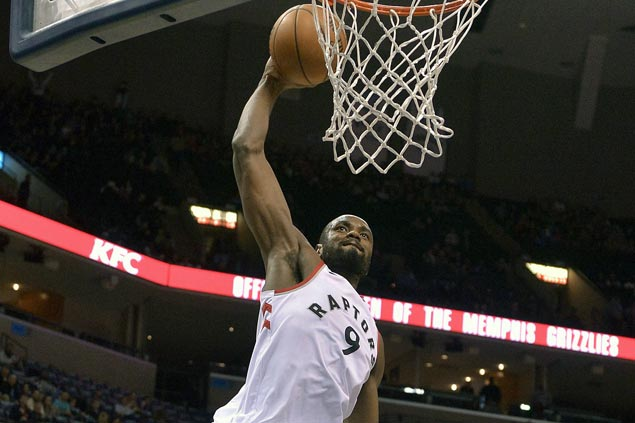 Raptors rally from 17 points down to beat Grizzlies