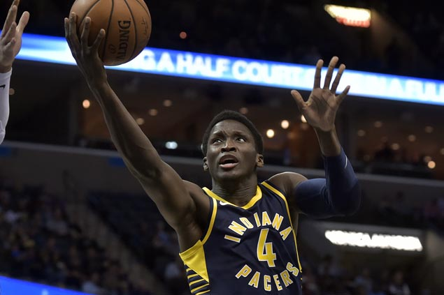 Pacers ride huge third quarter, hit 15 triples to stop Cavaliers' win run at 13