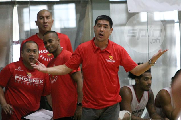 Coach Louie Alas says Phoenix still lacking pieces to be competitive in Philippine Cup