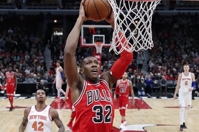 Kris Dunn, Nikola Mirotic shine as Bulls edge Knicks for second straight victory