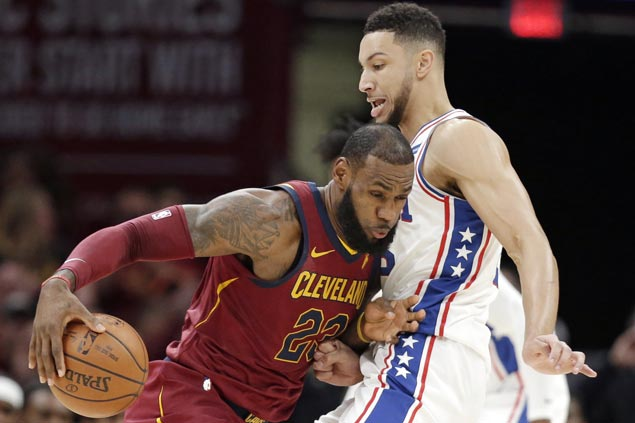 Cavaliers get back on track with close win over Sixers