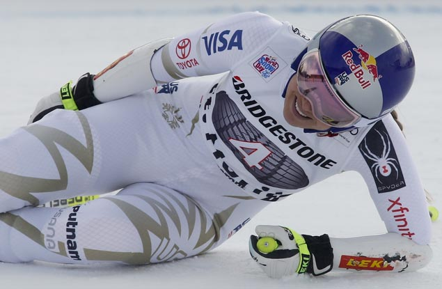 Lindsey Vonn withdraws from World Cup race due to injury