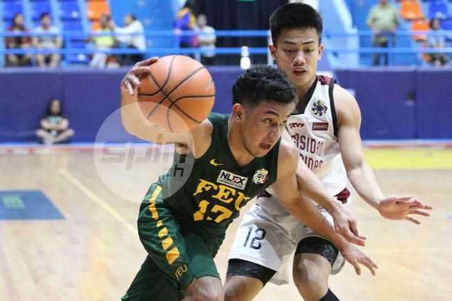 Ljhay Gonzales, RJ Abarrientos show way as FEU beats UPIS to snap two-game skid in UAAP Jrs