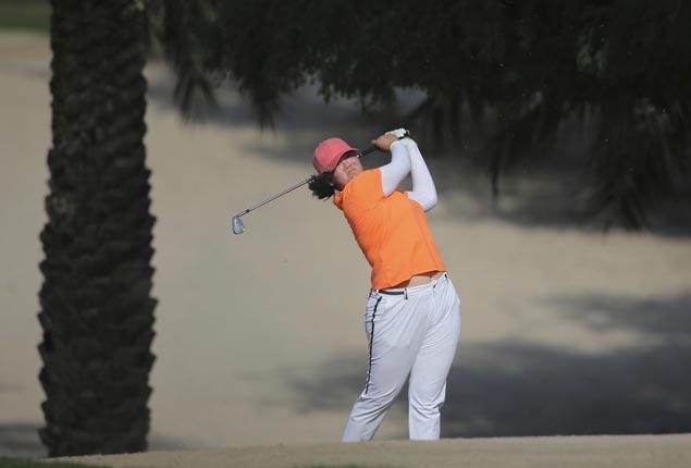 Teen pro Angel Yin tops three-way playoff for Dubai Ladies Classic title