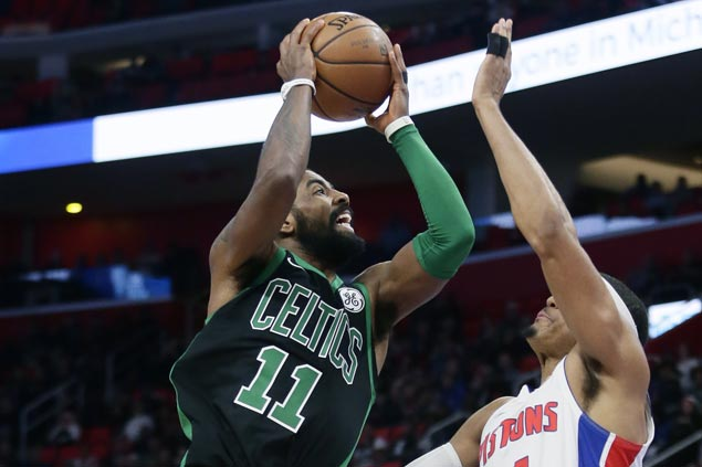 Al Horford, Kyrie Irving show way as Celtics bounce back and avenge loss to Pistons
