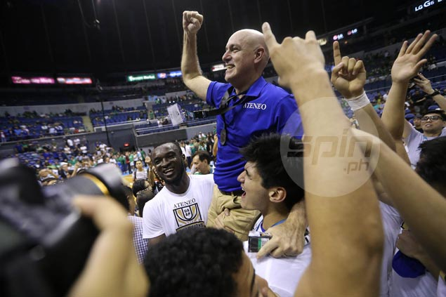 Baldwin says quality of individuals - more than championship - makes this Ateneo batch special