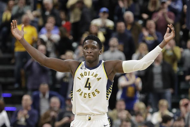 Victor Oladipo scores career-high 47 as Pacers edge Nuggets in overtime