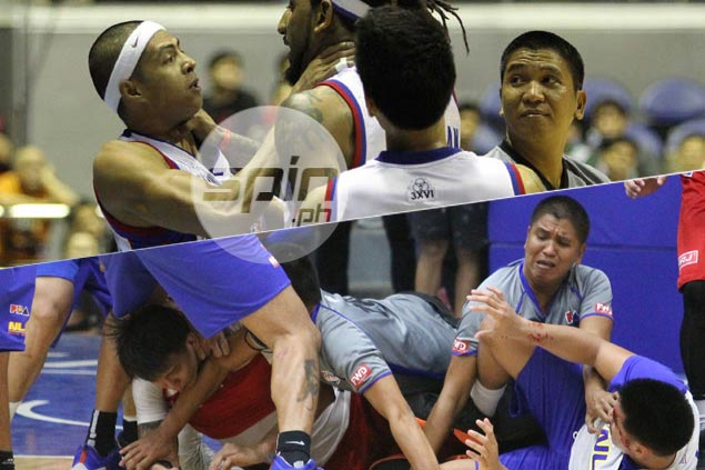 PBA referee again finds self in middle of nasty fight - and this time redeems self