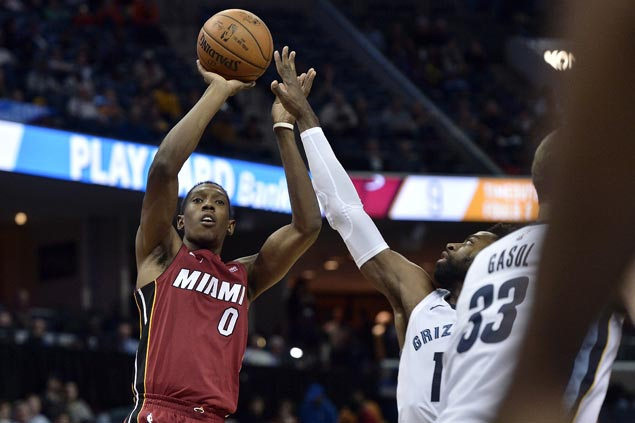 Hot-shooting Heat ease past lowly Grizzlies