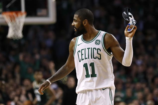 Kyrie Irving sits out Celtics game against Bulls due to bruised quad