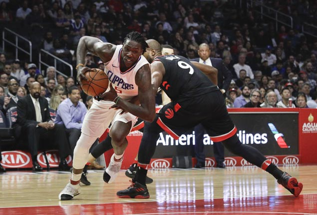 Montrezl Harrell shines as reserves power Clippers past Raptors