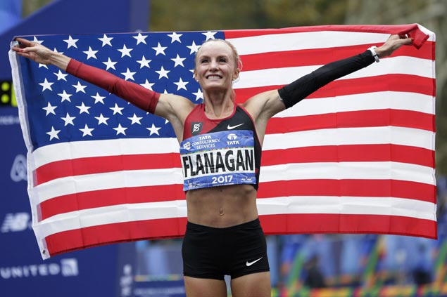 NYC Marathon champ Shalane Flanagan to make fourth attempt to win her hometown race in Boston