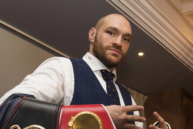 Tyson Fury free to box again after getting backdated two-year doping ban