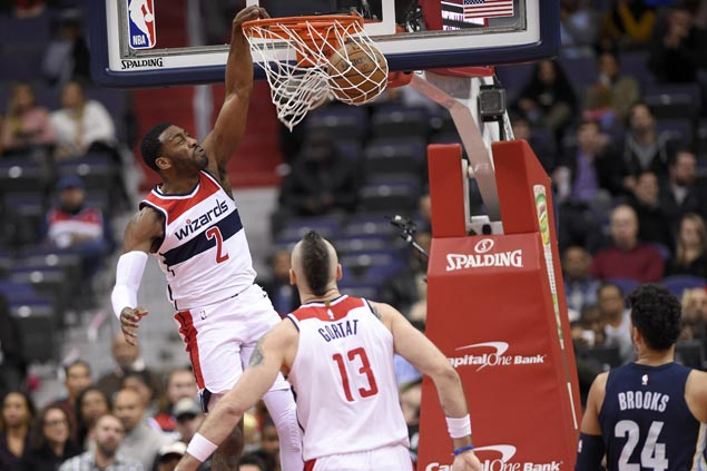Wizards overpower Grizzlies as John Wall returns after missing nine games