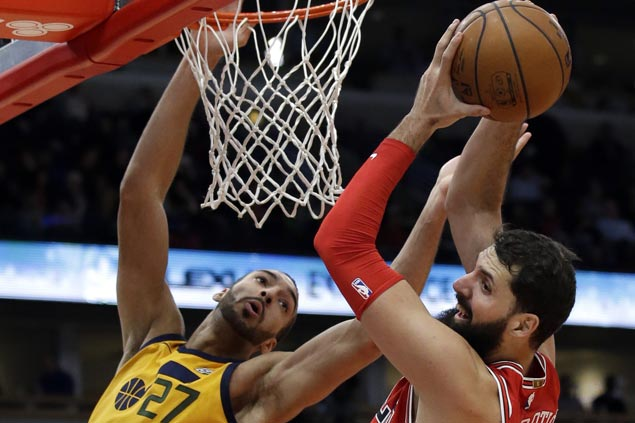 Nikola Mirotic continues surge and Bulls stretch streak to four with victory over Jazz