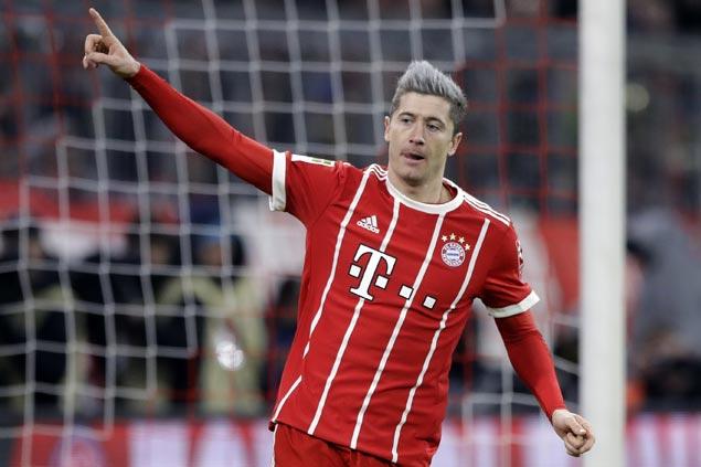 Robert Lewandowski scores again as Bayern nips Cologne to stretch Bundesliga lead