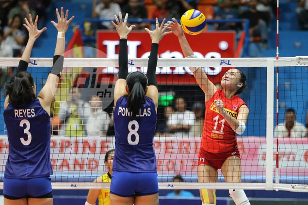 F2 Logistics hero Cha Cruz plays down role in late rally to spoil Petron party