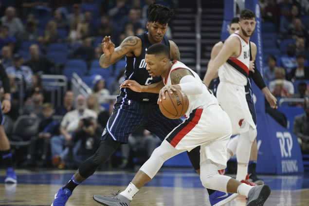Trail Blazers squander big lead late but hold on to edge Magic