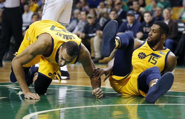 Jazz win over Celtics comes at the cost of two starters — one possibly for an extended period