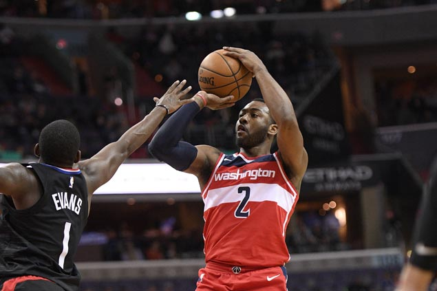 John Wall struggles with his shot but gets praise for solid showing in endgame