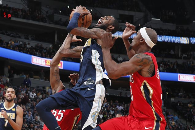 Will Barton takes charge in overtime as Nuggets outlast Pelicans