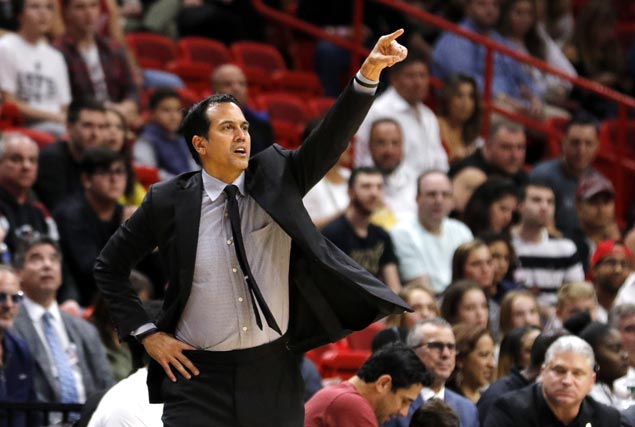 Heat beat Clippers and Erik Spoelstra passes Pat Riley coaching record