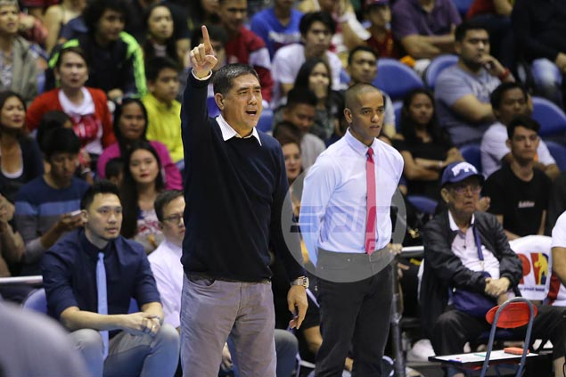 Louie Alas admits lapses in first game back as PBA head coach