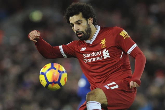 Mohamed Salah nets 20th goal of season as Liverpool rips Bournemouth to gain spot in EPL top four