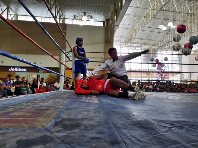 Reymar Brillo pulls off 14-second knockout of Zaldy Ricopuerto in PSC-Pacquiao Amateur Boxing Cup