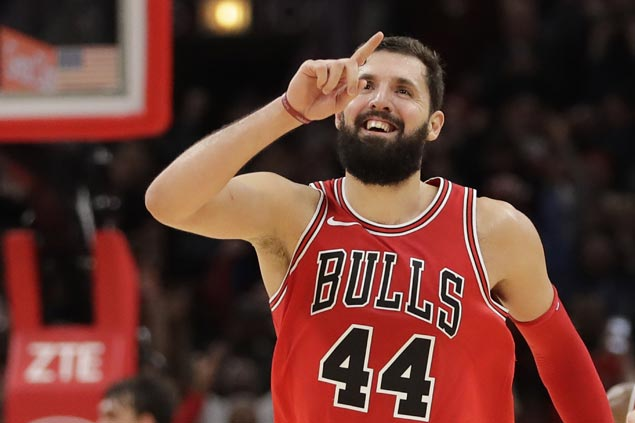 Nikola Mirotic sustains fine play and Bulls extend streak to six with win over Sixers