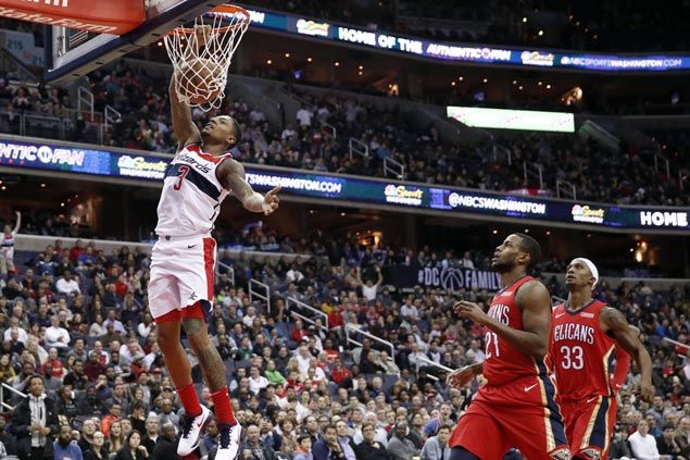 Bradley Beal, Mike Scott shine as Wizards finish strong in big victory over Pelicans