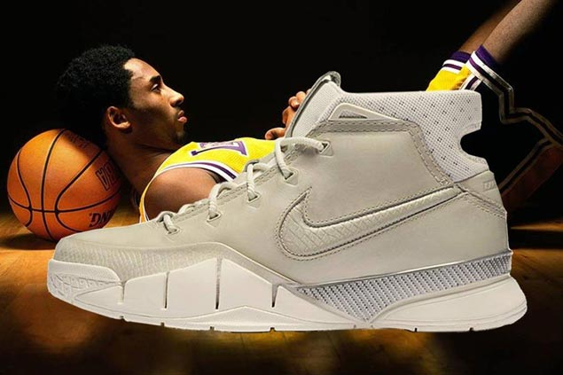 Look back at the most iconic sneakers worn by Kobe Bryant in legendary career