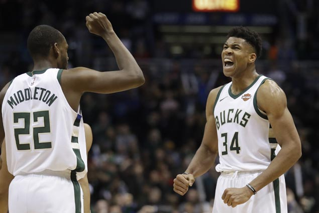 Giannis pleased as wasteful Bucks show some maturity, get a boost in morale with squeaker over Cavs