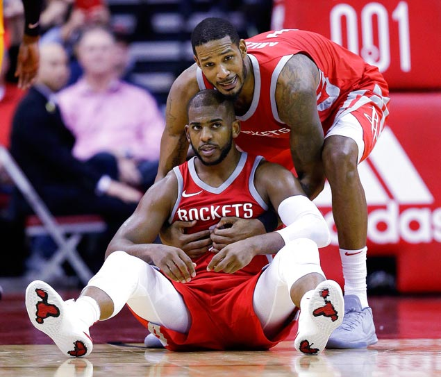 Chris Paul to miss third straight game with groin injury as undermanned Rockets, Celtics clash
