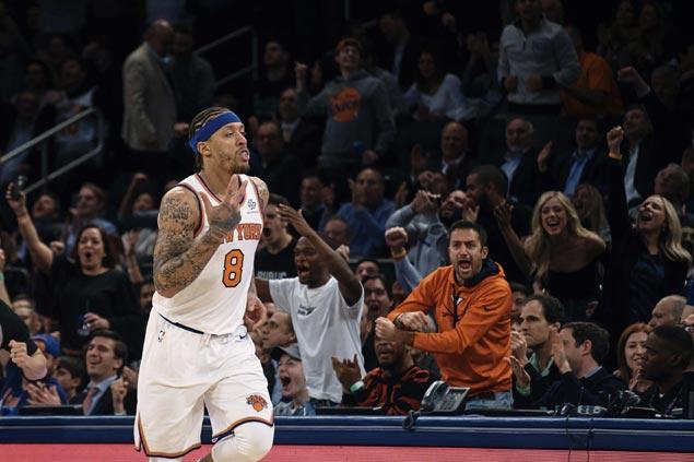 Knicks super sub Michael Beasley hears 'MVP' chants after scorching Celtics