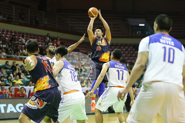 Rain or Shine holds off TNT in grindout battle as Belga throws weight around