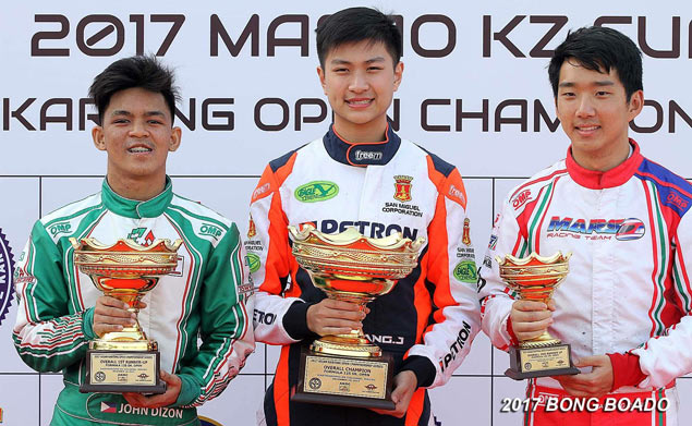 Filipino racer Jacob Ang stamps class in Asian Karting Open Championship
