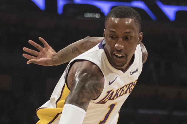 Lakers' Kentavious Caldwell-Pope serving sentence after violating probation on drunken driving arrest