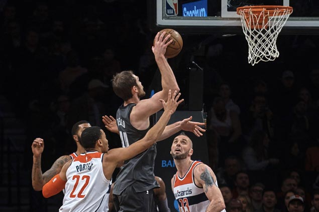 Nets use balanced offense to rout Wizards and halt four-game slide
