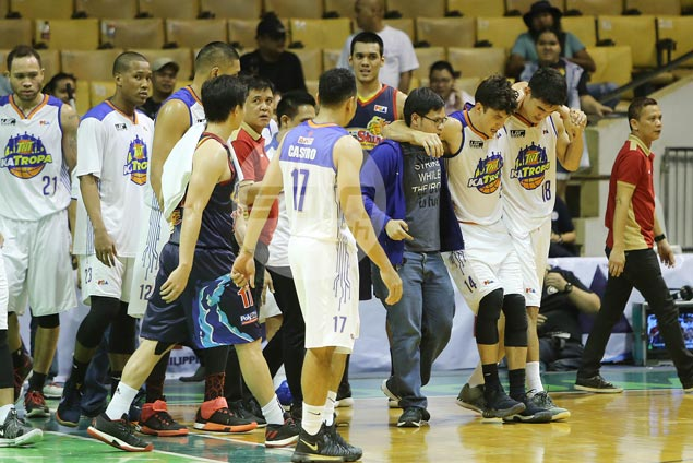 Sigh of relief for TNT as MRI rules out any major injury for Anthony Semerad
