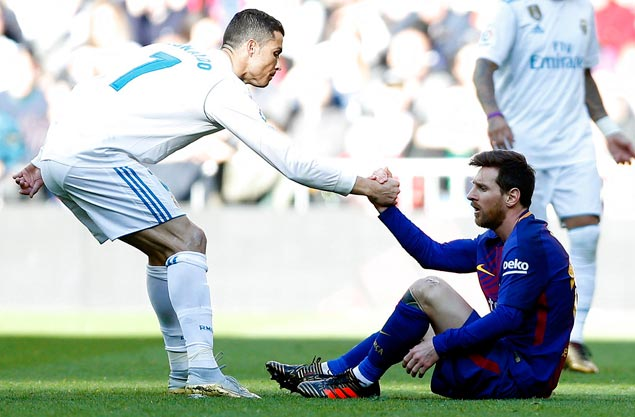 Messi-led Barca deals 10-man Real Madrid a three-goal beating in El Clasico
