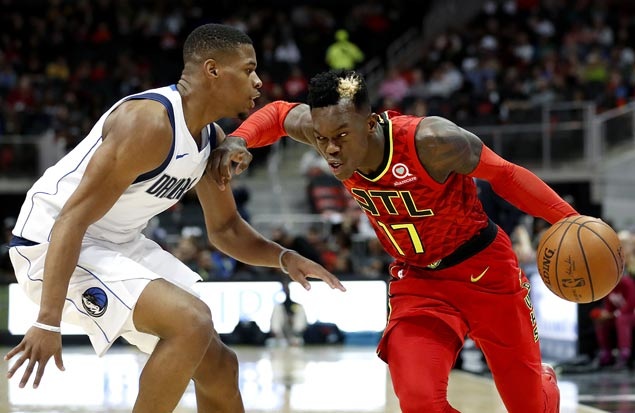 Dennis Schroder matches career high 33 points as Hawks edge Mavs in battle of bottom teams