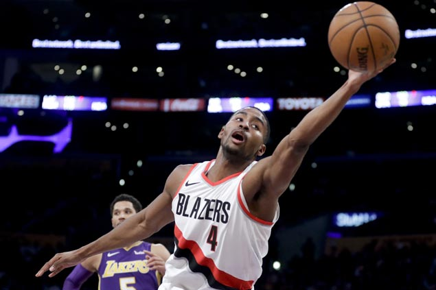 Super sub Maurice Harkless comes up clutch as Blazers nip Lakers to arrest three-game skid