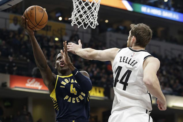 Victor Oladipo scores 38 as Pacers erase 19-point deficit to beat Nets in overtime