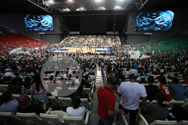 Alarming trend? Christmas Day games draw lowest PBA attendance at Philippine Arena