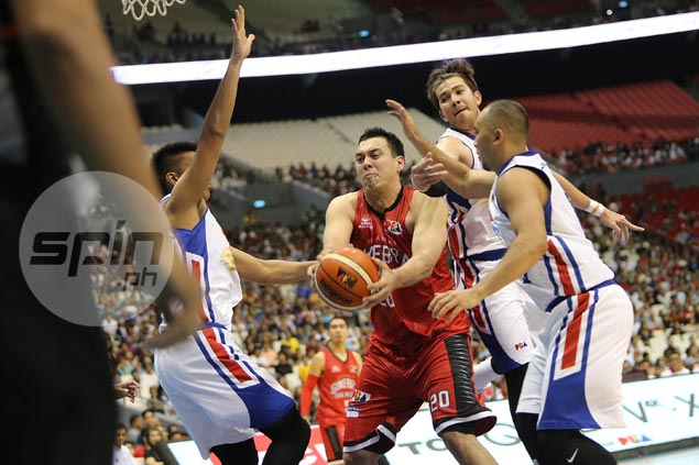 Slaughter stands out as Ginebra asserts mastery of Magnolia in Christmas game