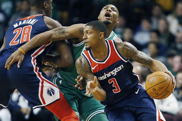 Beal, Wall star as Wizards spoil Celtics' first Christmas Day home game in franchise history