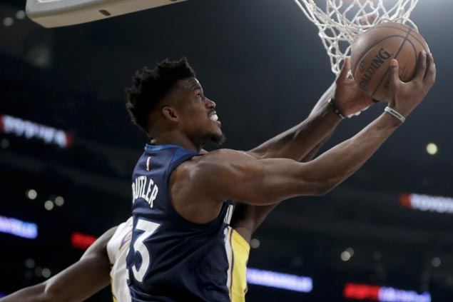 Timberwolves rout Lakers for first-ever Christmas Day victory